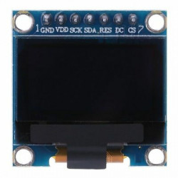 White OLED 128x64 display...